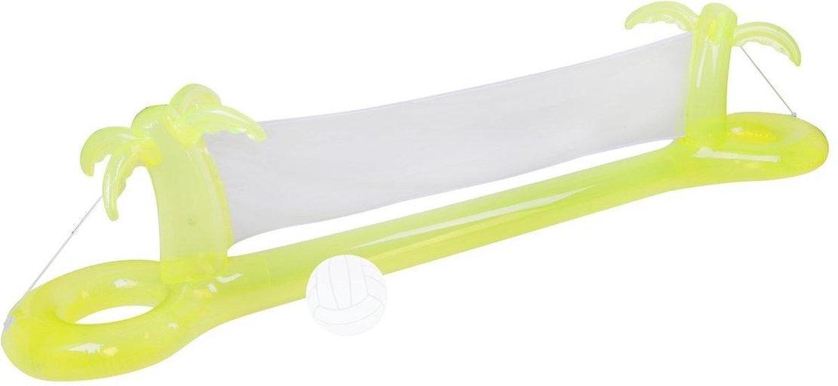 Sunnylife - Drijvende Volleybalset - opblaasbaar - 300 x 65 x 70cm - 1x opblaasbaar en drijvend net en 1x opblaasbare bal