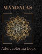 Mandalas Adult Coloring Book: Stress Relieving Designs Animals, Mandalas, Flowers