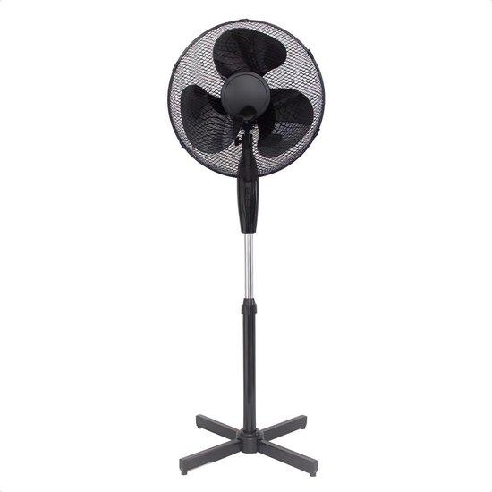 Buxibo - Staande Ventilator - Statief Ventilator - 1A - Zwart