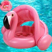 Opblaasbare Flamingo | Zwembad Kussen | Luchtbed | Luchtmatras | Zonne-bescherming | Antislip