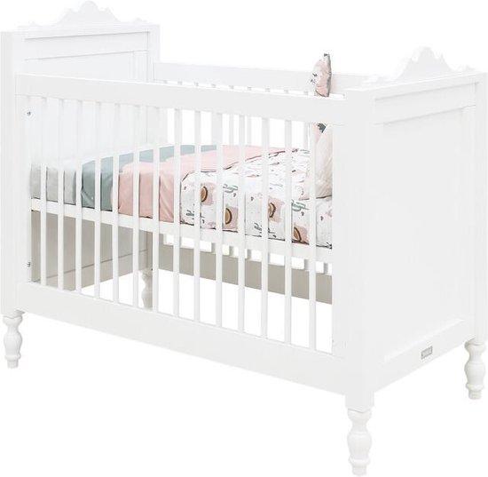 Bopita Belle bed 60x120 - Wit