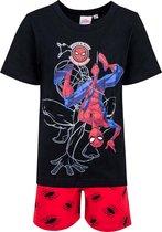Spiderman Shortama - Spiderman Pyjama - korte broek en t-shirt - Pyjama - Marvel - Zomer Pyjama - Maat 116