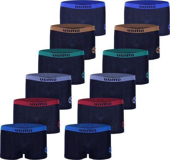 Microfiber Boxershort jongens 2002 - Jongens ondergoed - VOORDELIGE 12 PACK 140/146