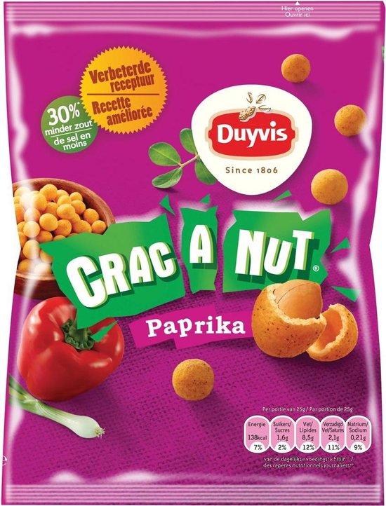 Duyvis nootjes Crac A Nut paprika - 200 gram