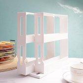 Swivel Tidy - keukenkast organiser - kruidenrek - medicijnen - ruimtebesparen en overzichtelijk