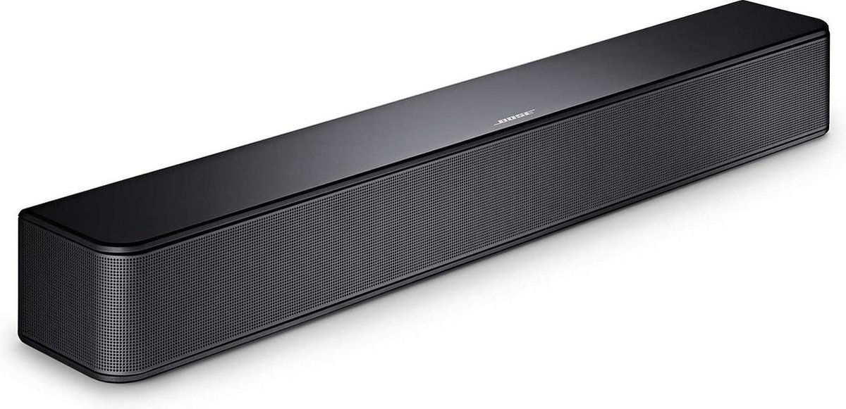Bose Solo Soundbar Series II – TV speaker met Bluetooth – Zwart