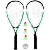 Kinky Pleasure - Tennis Kit - Badminton Set - + Gratis Opbergtas - Groen