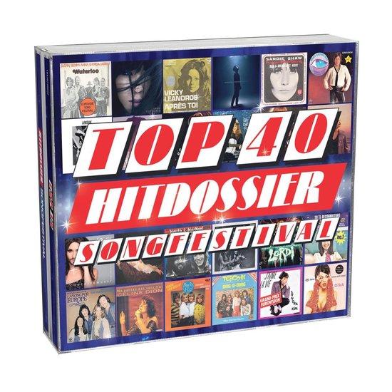 CD cover van Top 40 Hitdossier - Songfestival van Top 40