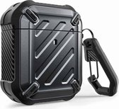 SUPCASE Unicorn Beetle Rugged Armor Apple AirPods 1 / Airpods 2 Case - Zwart