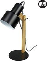 Puhlmann Retro Bureaulamp - Mat Zwart - Verstelbare Bovenkant