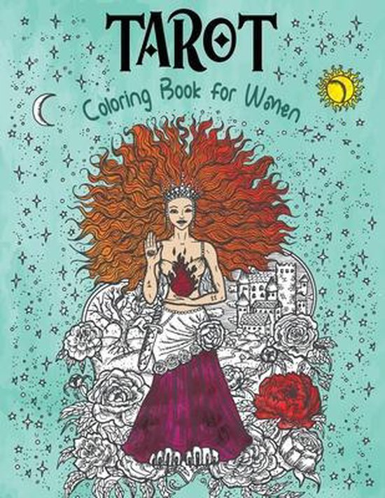 Tarot Coloring Book for Women