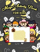 Maze Activity Book for Kids Ages 4-8
