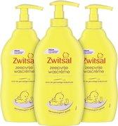 Bol.com-Zwitsal Baby Zeepvrije Wascrème - 3 x 400 ml - Voordeelverpakking-aanbieding