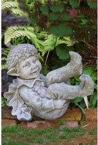 Betonnen tuinbeeld - Acorn - Pheebert's - kabouter