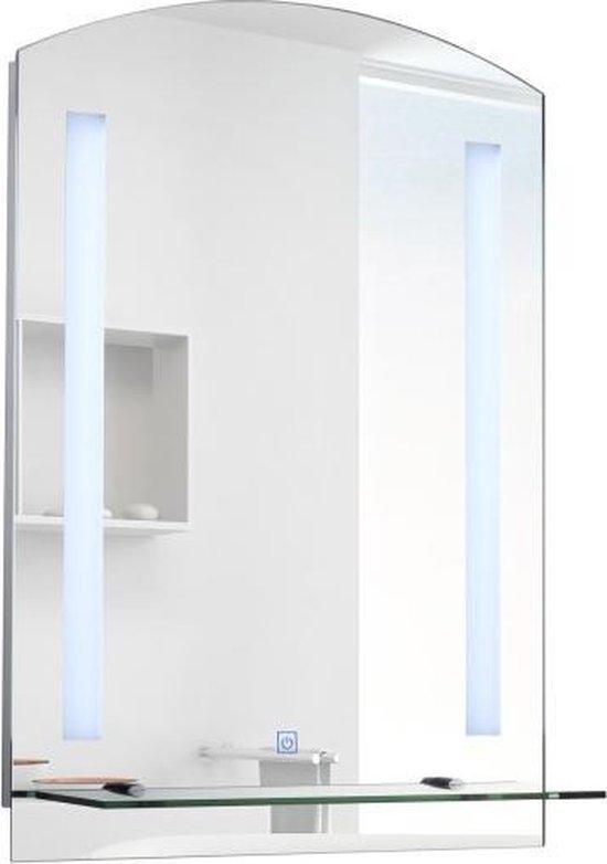 Luxe Badkamer Spiegel Met LED Verlichting - Touch Sensor