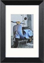 Fotolijst - Henzo - Umbria - Fotomaat 10x15 cm - Zwart