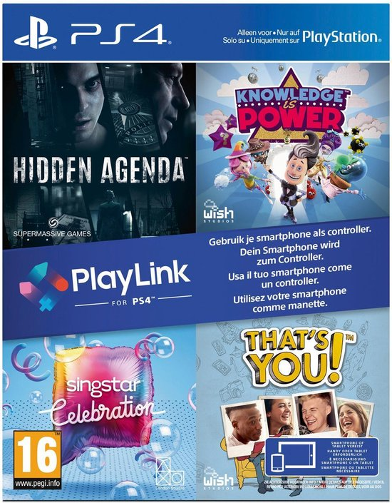 Playlink Software Box - PS4