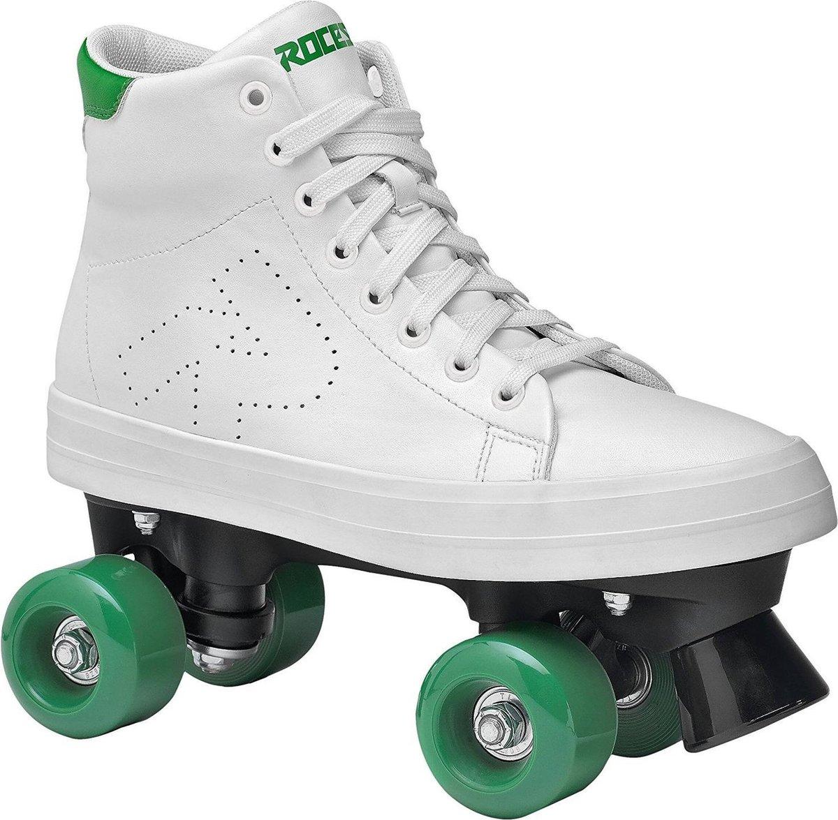 Roces Ace Rolschaatsen Junior Wit/groen Maat 35