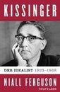 Boek cover Kissinger van Niall Ferguson