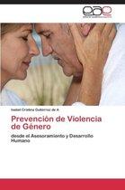Prevencion de Violencia de Genero