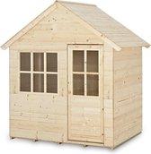 "TP Toys Play House ""Hideaway"" - Speelhuis - FSC hout onbehandeld - 118 x 90 x 146 cm"