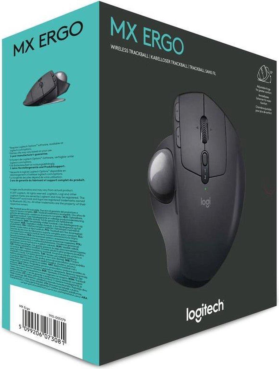 Logitech MX Ergo Draadloze Trackball Muis
