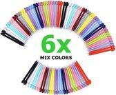 6 Stuks - Stylus Pen voor Nintendo DS Lite - Mixed Colors