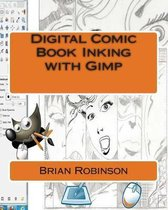 Digital Comic Book Inking with Gimp