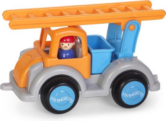 Viking Toys - Grote brandweerauto in doos
