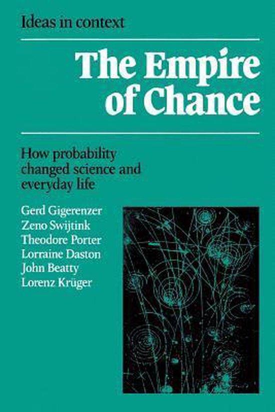 Boek cover The Empire of Chance van Gerd Gigerenzer (Paperback)