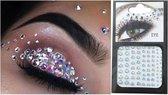 Face Crystals - Body Glitter - Tijdelijke Gezicht Bedels - Festival Glitter kristallen - Zomer feest bedeltjes - Festival Tattoo - Diamond dots