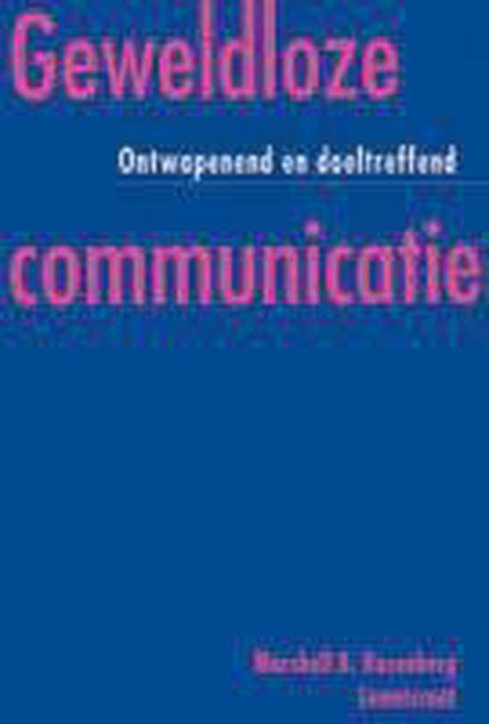Boek cover Geweldloze Communicatie van Marshall B. Rosenberg