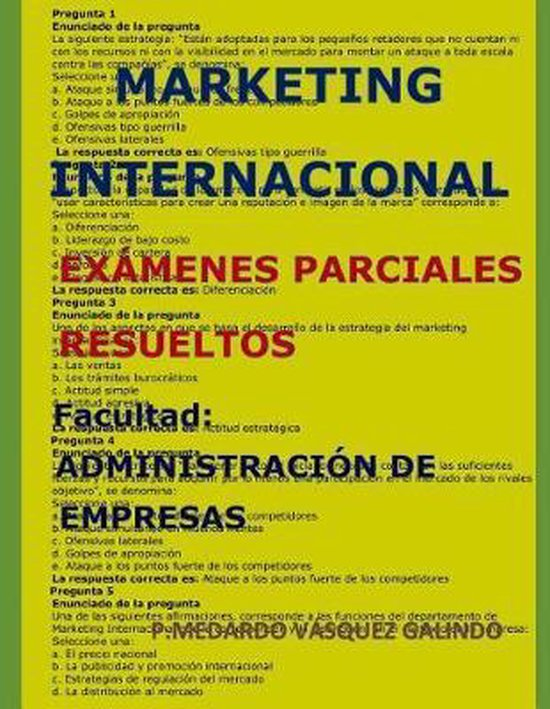 Marketing Internacional- Ex