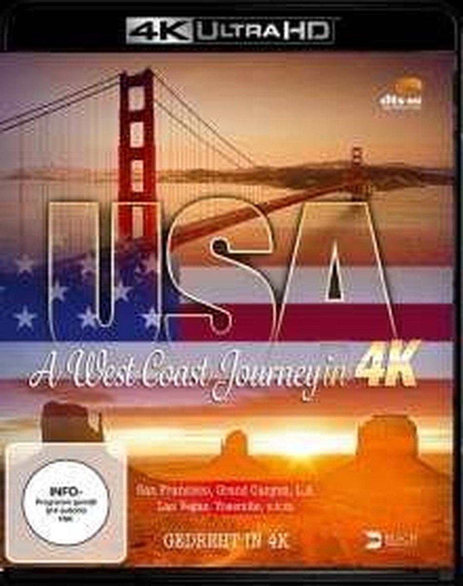 USA - A West Coast Journey (4K UHD)/Blu-ray-