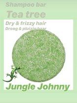 Shampoo Bar Tea Tree | Droog & pluizig haar | Duurzaam | Stichting Trees for All | 70ml