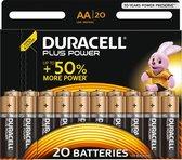 Duracell AA Plus Power - 20 stuks