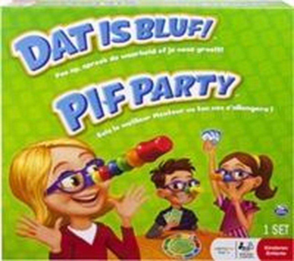 DAT IS BLUF! PIF PARTY