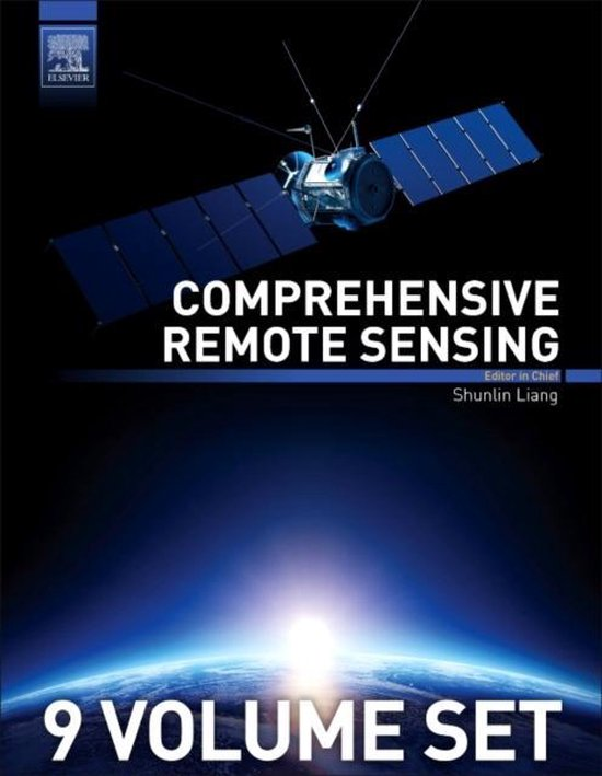 Boek cover Comprehensive Remote Sensing van Shunlin Liang (Onbekend)