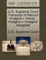 U.S. Supreme Court Transcript of Record Hudgins V. Kemp