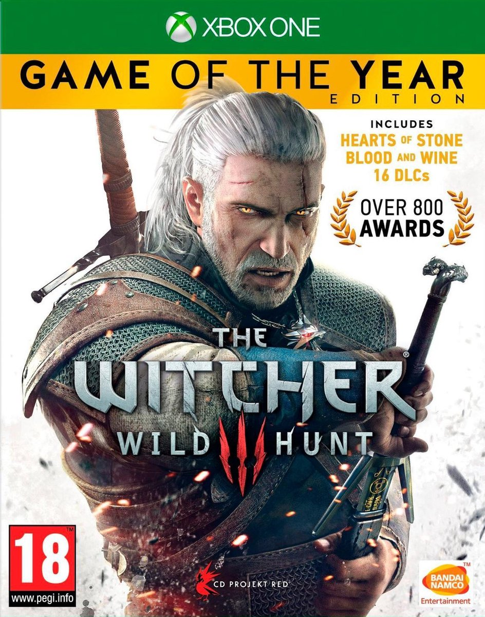 The Witcher 3: Wild Hunt - Game of The Year Edition - Xbox One - CD Projekt RED
