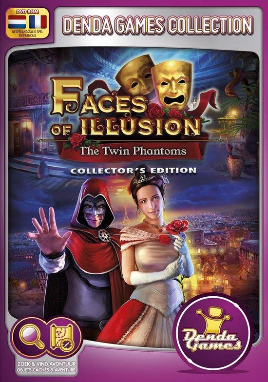 Denda Game 165: Faces of Illusion: The Twin Phantoms (Collector's Edition) PC