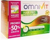 Omnivit Hair Care 120 Tabletten + 60 GRATIS (50%)