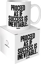 Quotable Mug Proceed As If Success is Inevitable
