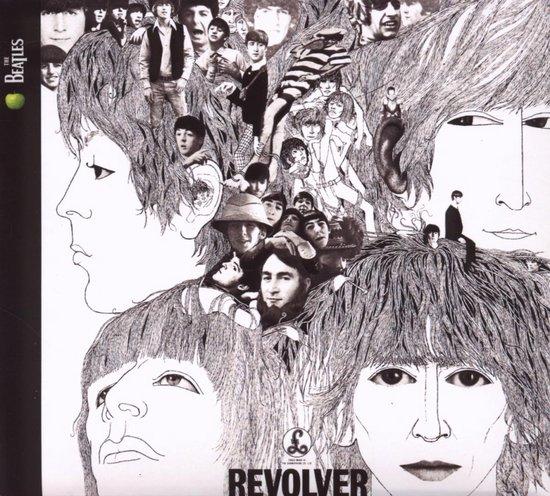 CD cover van Revolver van The Beatles