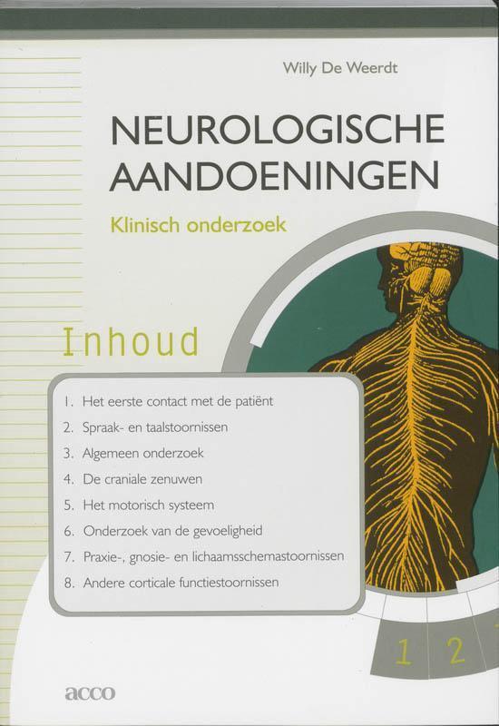 Neurologische Aandoeningen + CD-ROM - W. De Weerdt |