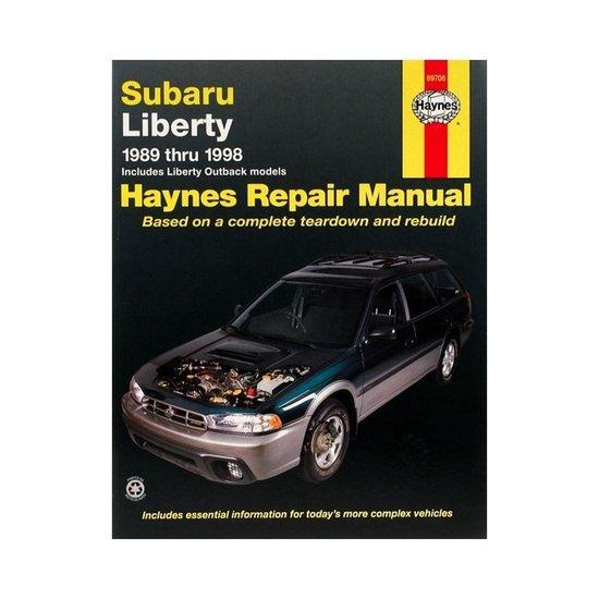 Subaru Liberty (89 - 98)