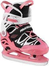Powerslide Schaatsen - Maat 35-38 - Meisjes - roze/wit/zwart