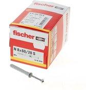 Fischer nagelplug N 8X60 Z 50 st