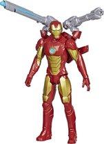 Iron Man Avengers Titan Hero Blast Gear - Speelfiguur 30cm
