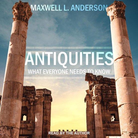 Boek cover Antiquities van Maxwell L. Anderson (Onbekend)